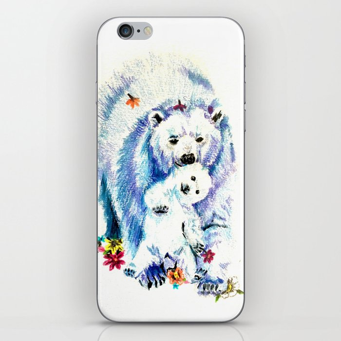 Mama Bear Lovin iPhone Skin