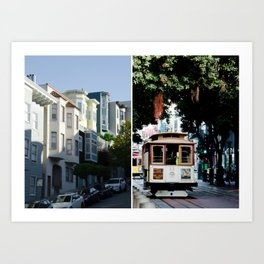 SF Dream Art Print