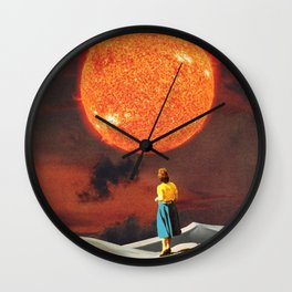 Your Heart Is The Sun Wall Clock