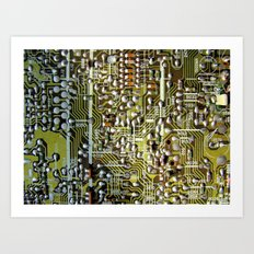 Macho City 001 Art Print
