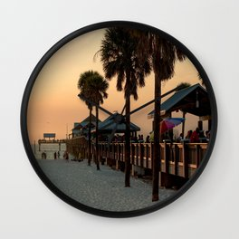 Beach Vibes Wall Clock