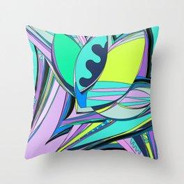 Libertad de Color Part 4 Throw Pillow