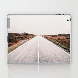 ROAD - HIGH WAY - LANDSCAPE - PHOTOGRAPHY - NATURE - ADVENTURE - SKY Laptop & iPad Skin