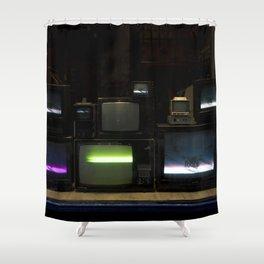 Nostalgia - Cathode Ray Tube Television Shower Curtain