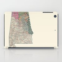 alabama iPad Cases featuring Alabama by judy lee