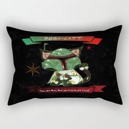 Boba-Catt, Meowty Hunter.  Rectangular Pillow