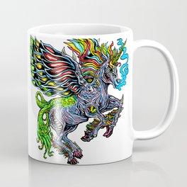 Monster unicorn Coffee Mug