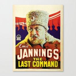 Vintage poster - The Last Command Canvas Print
