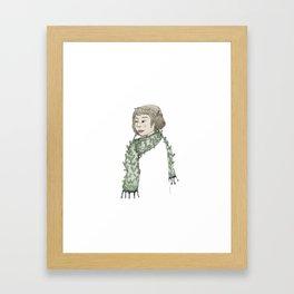 Plenitud serena Framed Art Print