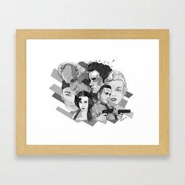 Legandary Six Framed Art Print