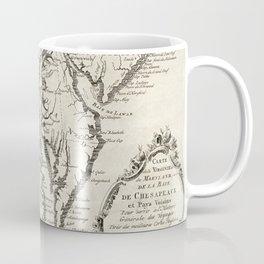 Vintage Map of The Chesapeake Bay (1780) Coffee Mug
