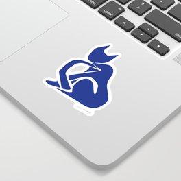 Henri Matisse - Le Chat Bleu (Blue Cat) Artwork - Prints, Posters, Tshirts, Bags, Mugs, Men, Sticker