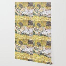 """Henri de Toulouse-Lautrec """"L'abandon (Les deux amies)"""" Wallpaper"""
