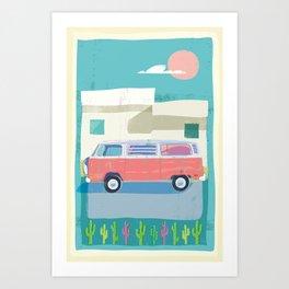 Baja 1977 Art Print