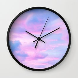 Clouds Series 4 Wall Clock