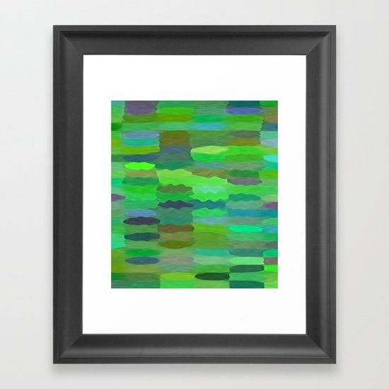 Sea Tones Framed Art Print