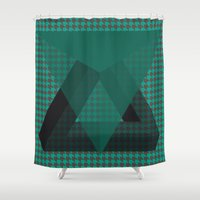 triangle Shower Curtains featuring Triangle*** by Mr & Mrs Quirynen
