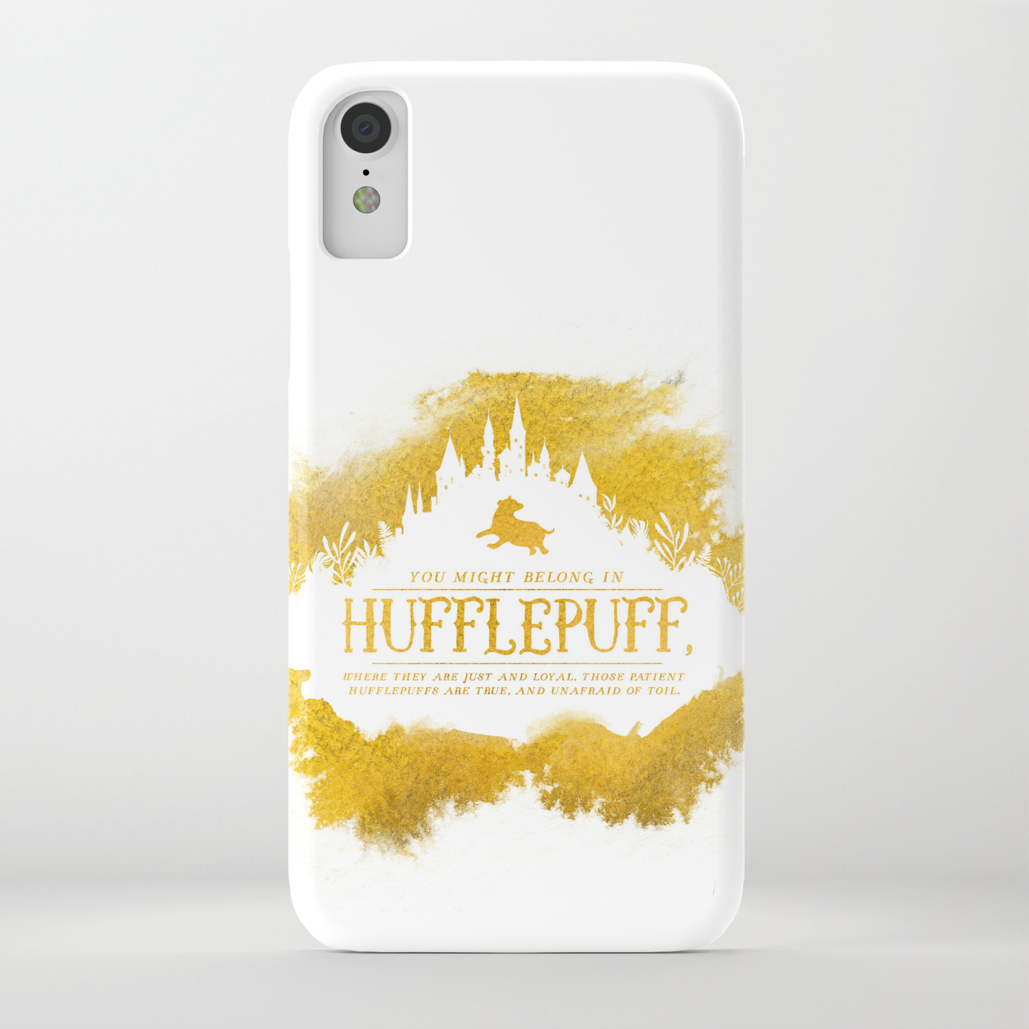 on sale 65b66 e3d2f Hufflepuff iPhone Case