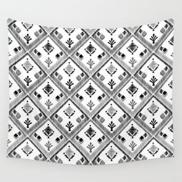 Abstract ethnic ornament. White background 4. Wall Tapestry