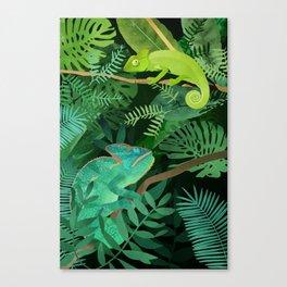 Chameleons Canvas Print