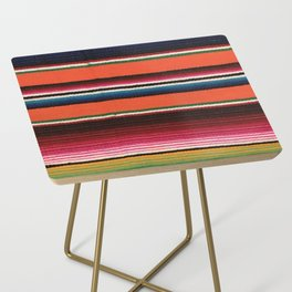 BEAUTIFUL MEXICAN SERAPE Side Table