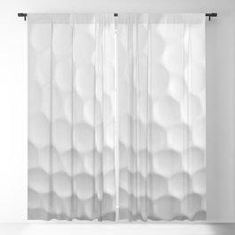 Golf Ball Dimples Blackout Curtain