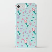 mermaids iPhone & iPod Cases featuring Mermaids by S. Vaeth