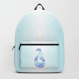 Tribal Fish Hook Backpack