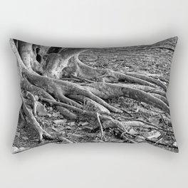 The Fingers-bw Rectangular Pillow