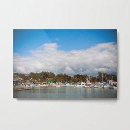 Laguna Pier Metal Print
