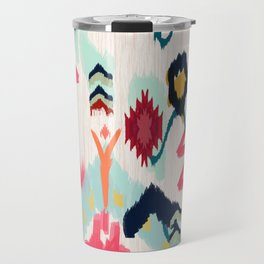 Bohemian Ethnic Painting Travel Mug