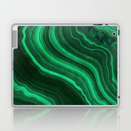 Malachite Texture 08 Laptop & iPad Skin