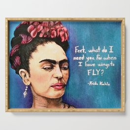 Frida has wings Serving Tray