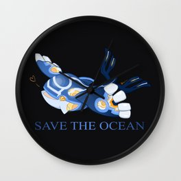 Kyogre - Save the Ocean! Wall Clock