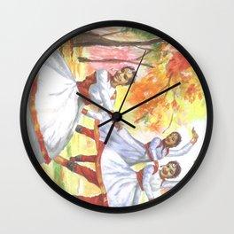 Painting by Niladri Roy for OSA NY/NJ Chapter 2017 Kumar Purnima Wall Clock