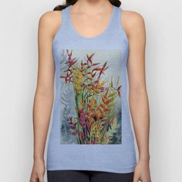 Heliconia Bouquet Unisex Tank Top