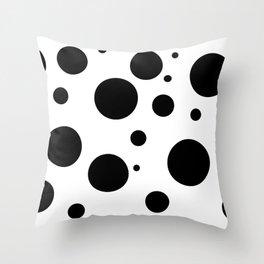 Dots III. Throw Pillow