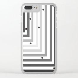 Tubular Clear iPhone Case