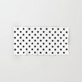 Stars (Black/White) Hand & Bath Towel