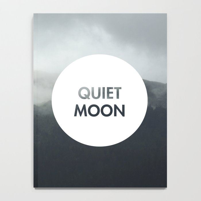 Quiet Moon (Celtic) Notebook