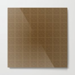 Maya pattern 3  Metal Print