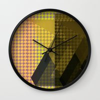 triangle Wall Clocks featuring Triangle** by Mr and Mrs Quirynen
