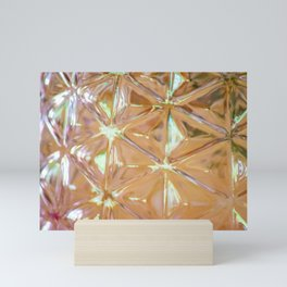 Pink glass Mini Art Print