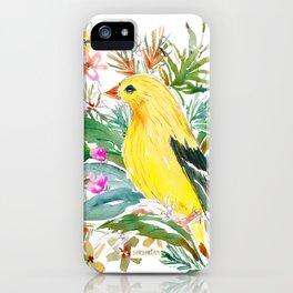 AURORA THE GOLDFINCH iPhone Case