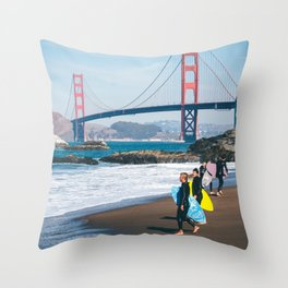California - Exemplified Throw Pillow