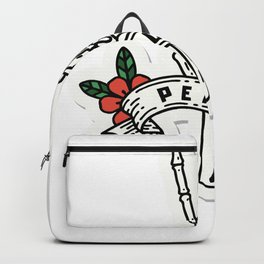 Peace Hand Backpack