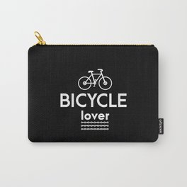 Bicycle Shirt for Biycle Lover Cyclogist MTB RIder Carry-All Pouch