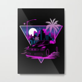 Into The Future Metal Print