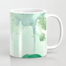 Meadow Pool Abstract Coffee Mug