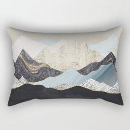 Silent Dusk Rectangular Pillow